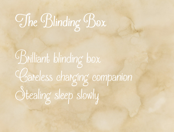 The Blinding Box